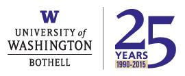 University of Washington Bothell logo