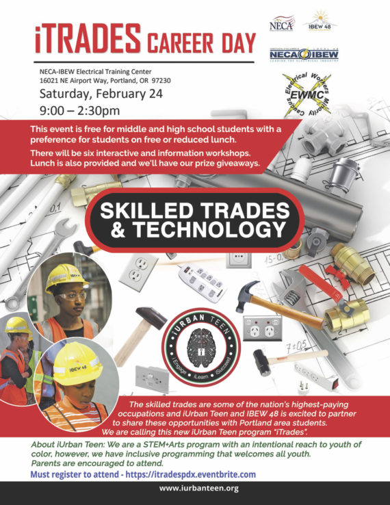 iTrades Career Day information