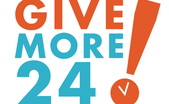 Give More 24! logo