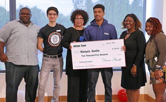 Marquis Guntle, iSucceed Scholarship recipient for 2017