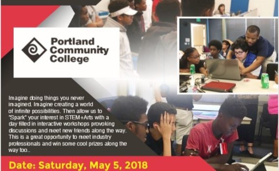 2018 iUrban Teen STEM + Arts summit at Portland Community College