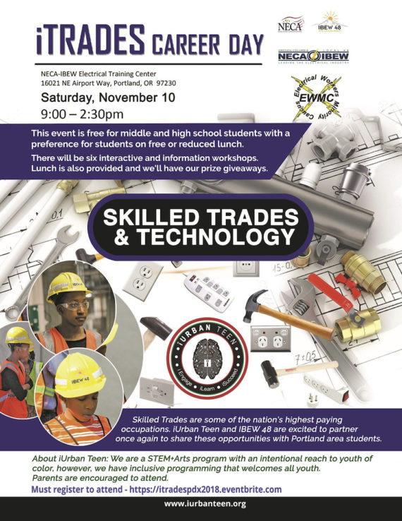 iTrades Career Day November 10 2018
